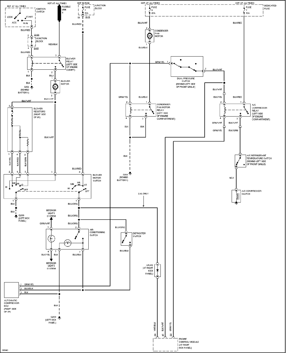 Mitsubishi Montero 1997 Misc. Document Wiring Diagrams PDF