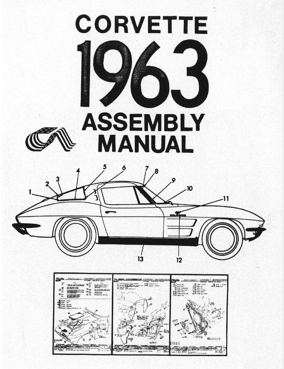 Chevrolet Corvette 1963 Workshop Manual PDF