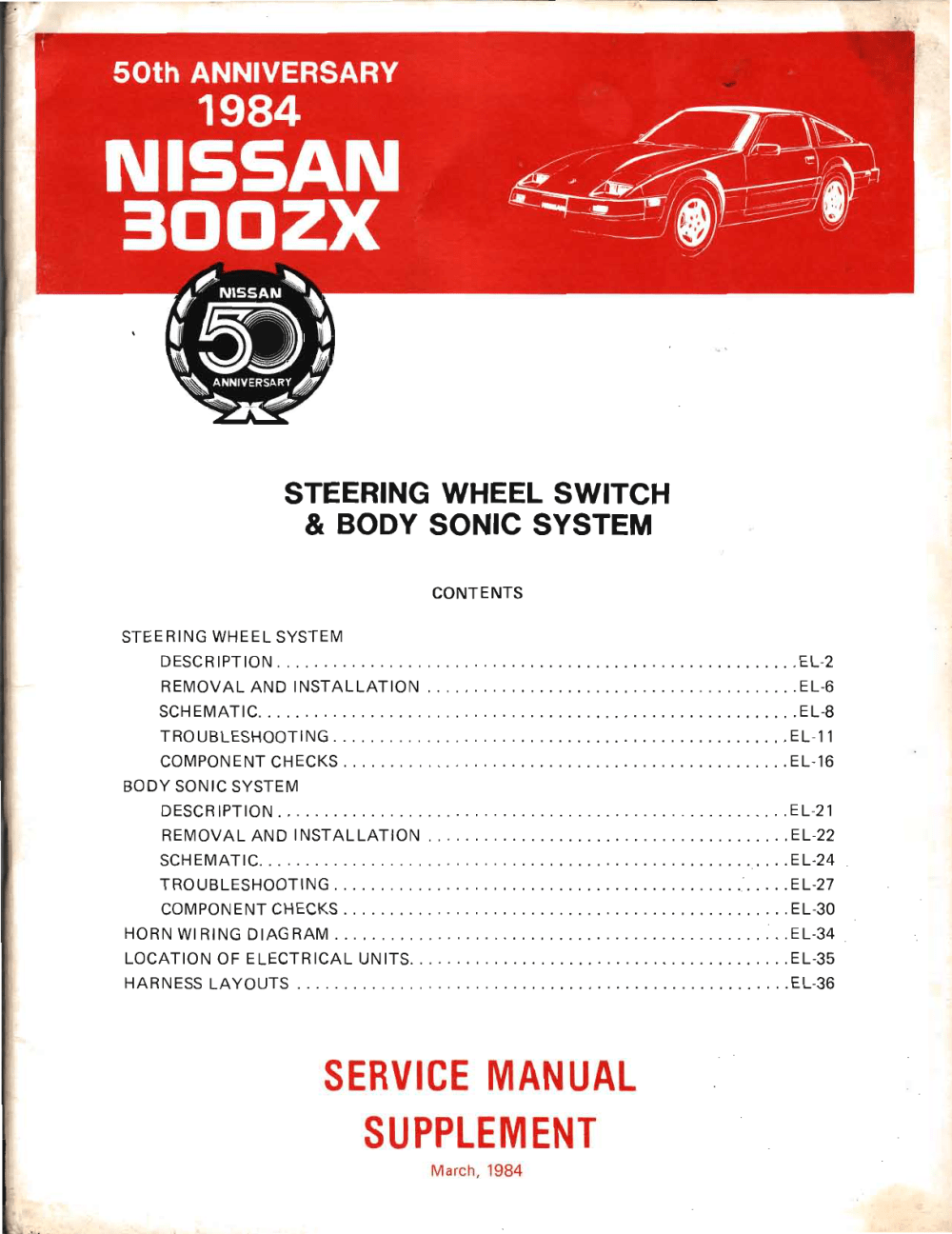 medium resolution of nissan 300zx 1984 steering wheel switches and bodysonic supplememt manual pdf