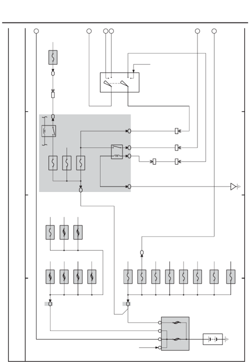small resolution of toyota yaris 2005 ksp90 ncp90 ncp91 electrical wiring diagram em00r0u