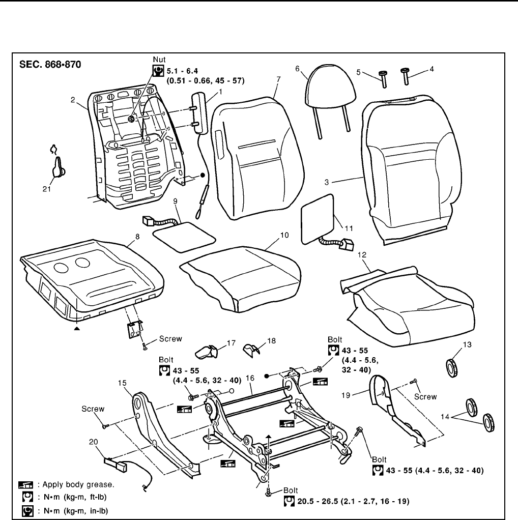 Nissan Primera (P12) Workshop Manual 2005 (39) PDF