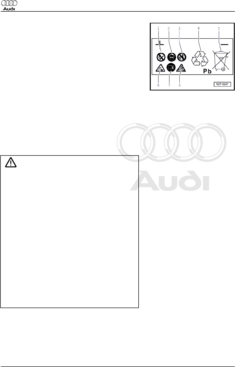 Audi Q5 2008 Workshop Manual 2 PDF