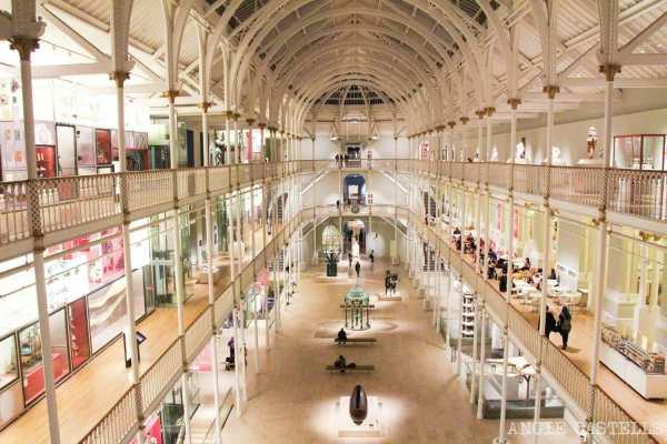 El Museo Nacional De Escocia Fascinante En Edimburgo