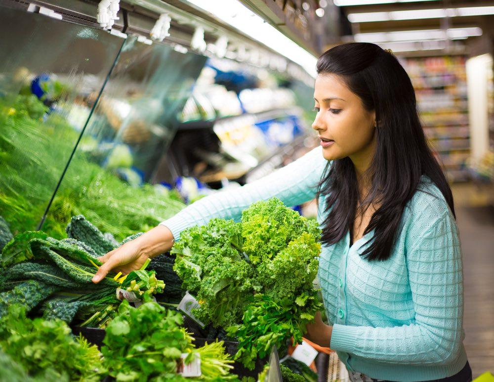 green leafy vegetables for vegan calcium