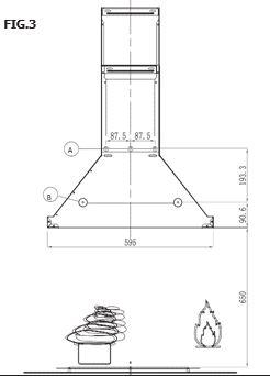 Buy Belling 602 Stainless Steel 60cm Chimney Hood