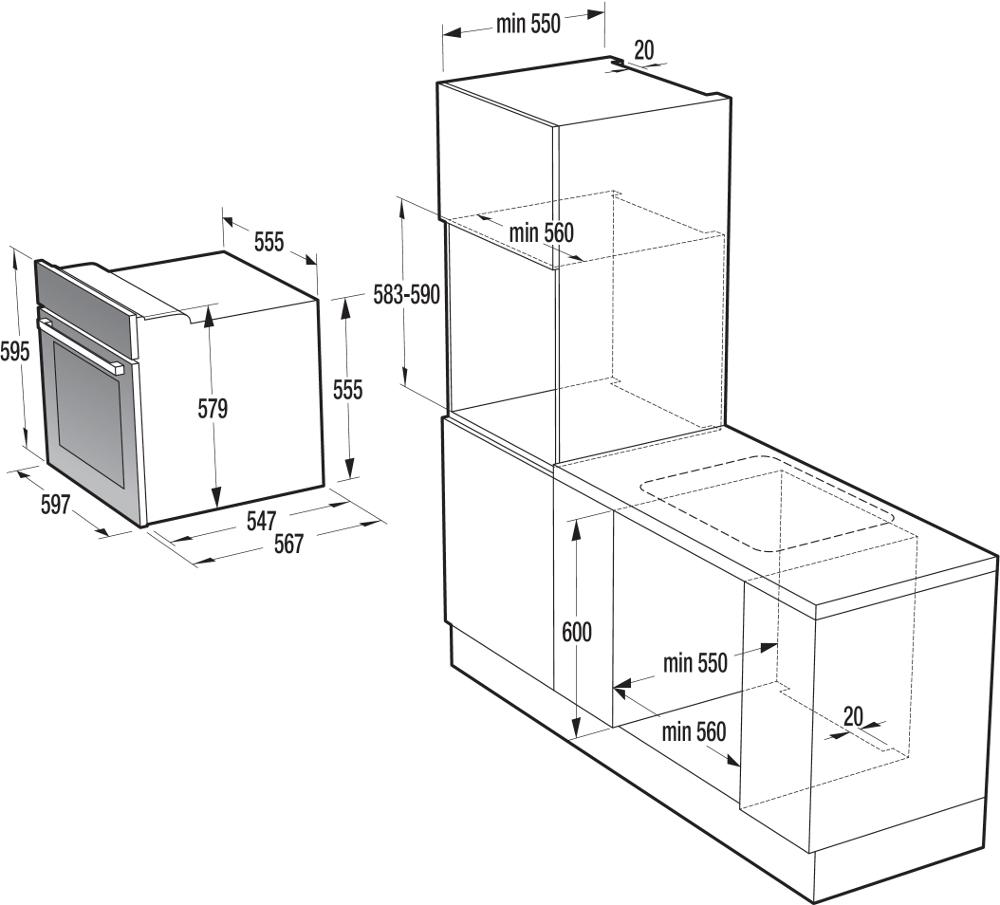 Buy Gorenje BO635E11WUK Single Built In Electric Oven