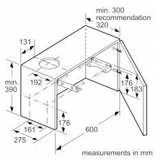 Buy Bosch Serie 2 DFM063W55B Telescopic Hood (DFM063W55B