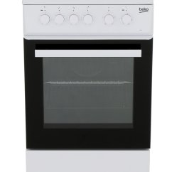 Beko Electric Cooker Wiring Diagram 2000 Cadillac Deville Alternator Buy Esp50w Solid Plate With Single Oven White