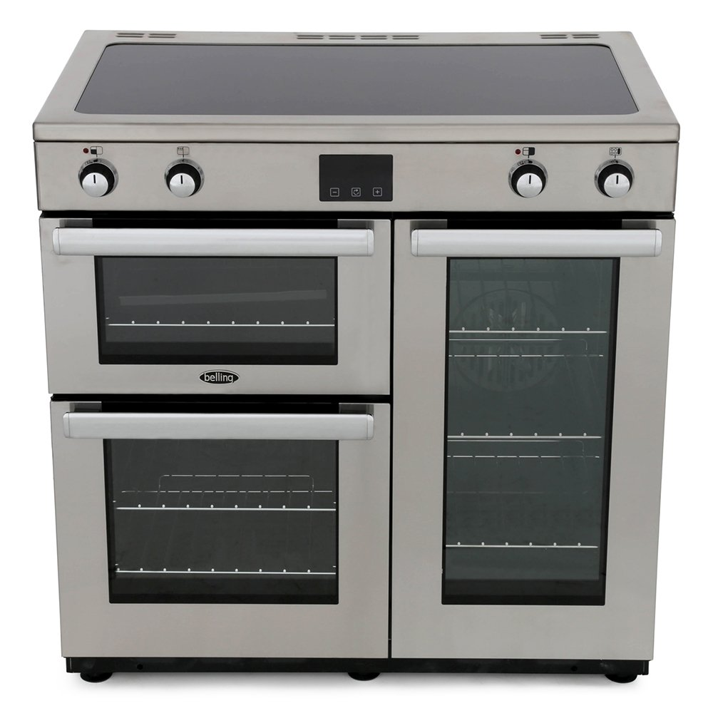 Buy Belling Cookcentre 90Ei PROF Stainless Steel 90cm