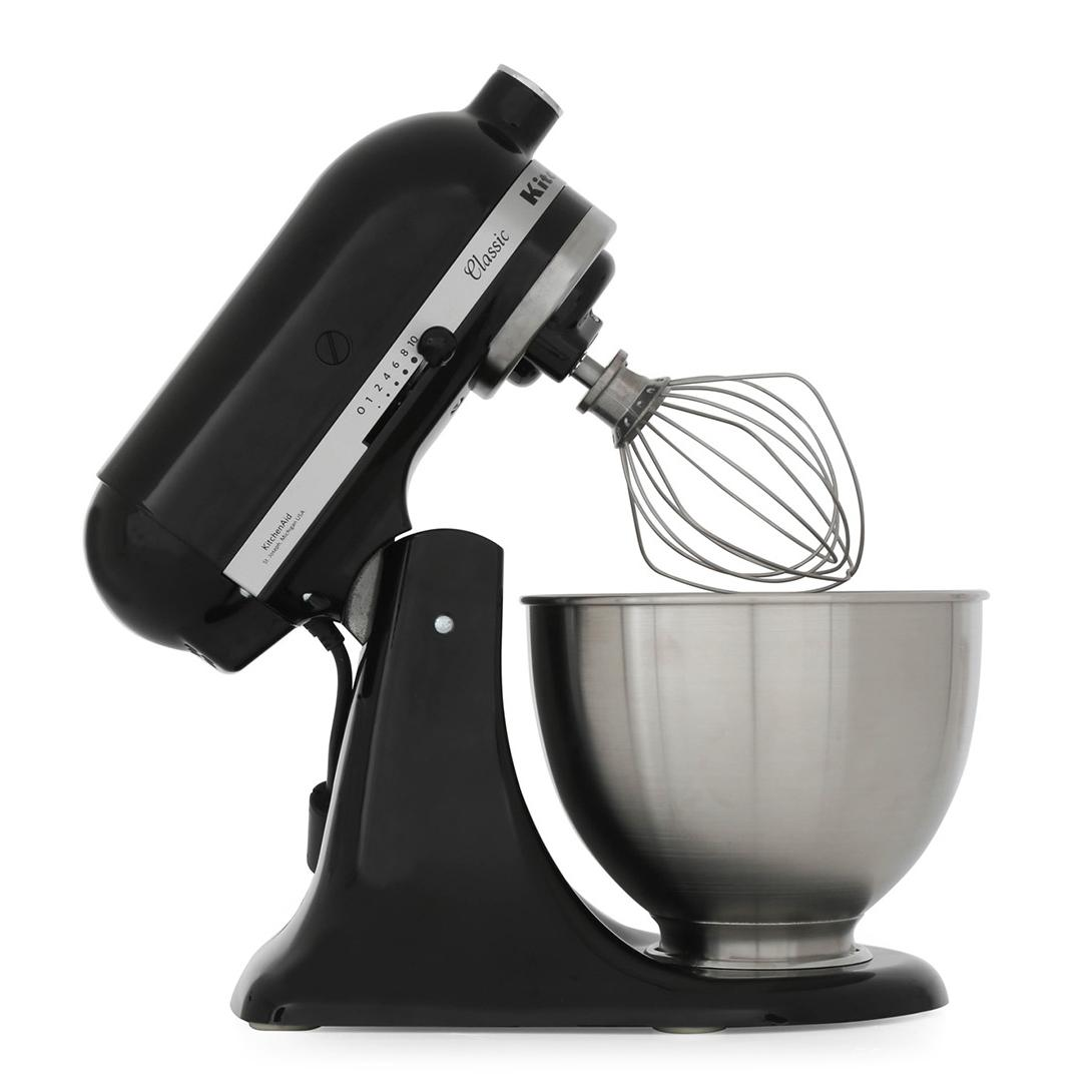 Buy KitchenAid 5K45SSBOB Food Mixer  Onyx Black  Marks