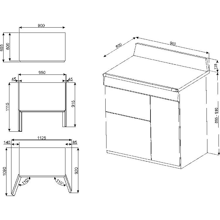 Buy Smeg Victoria TR93P 90cm Dual Fuel Range Cooker (TR93P