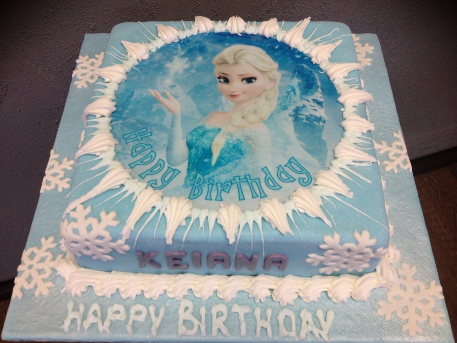 Selling Elsa Theme Birthday Cake A 11000 Powered By Santucom