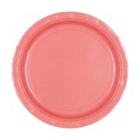 Amscan Plastic Block Color Plastic Plates (Pack Of 20)