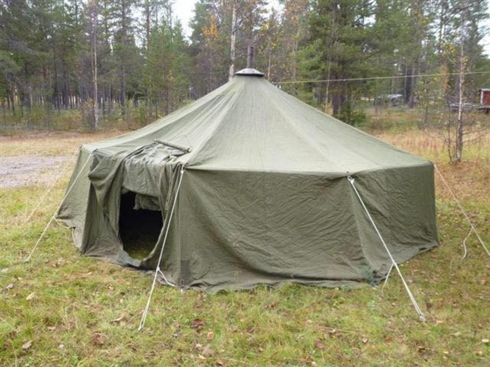 Ultralight Wood Stove Tent