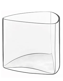 Luigi Bormioli 6 Triangular Appetizer Glasses Michelangelo