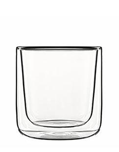 Luigi Bormioli 2 Appetizer Glasses in Thermic Glass