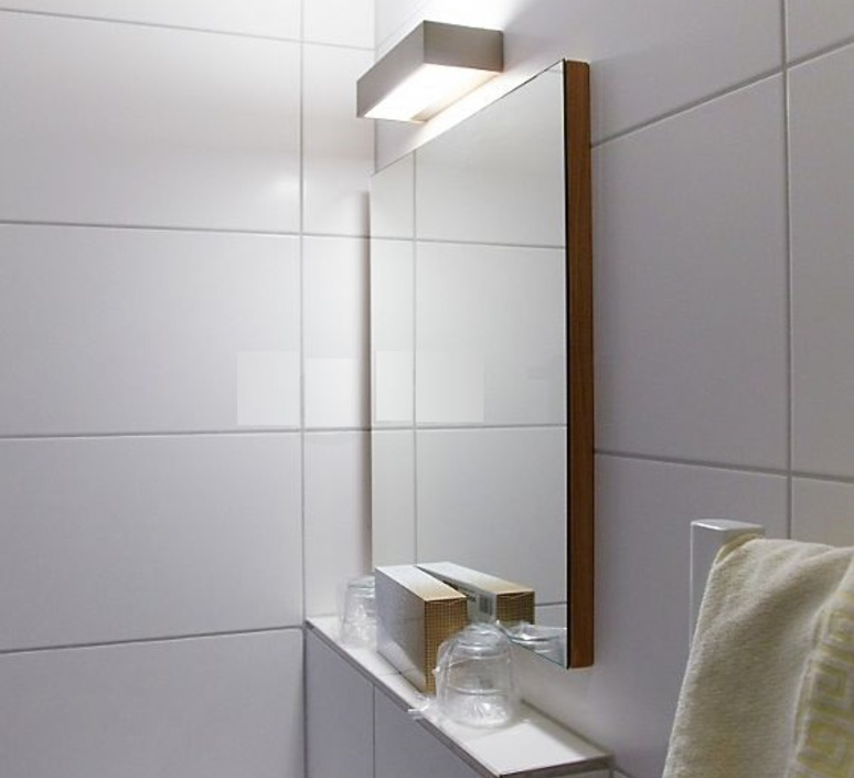 Wall Light Bathroom Box 15 N Chrome Led 2700k 2440lm L15cm H5cm Ip44 Decor Walther Nedgis Lighting