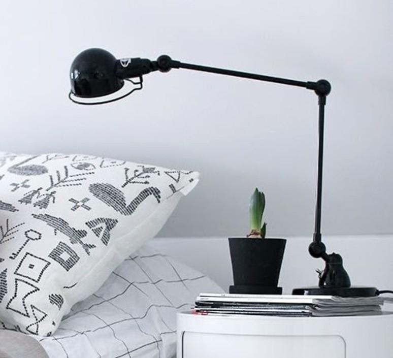 signal 2 bras jean louis domecq lampe de bureau desk lamp jielde si333 ral9011 design signed