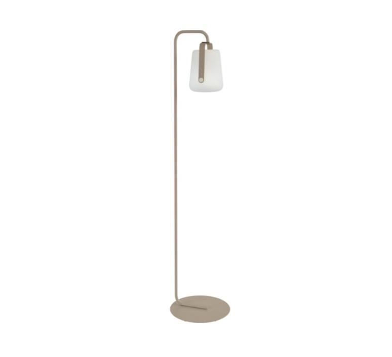 pied simple pour baladeuse d exterieur balad muscade h157cm l20cm led fermob