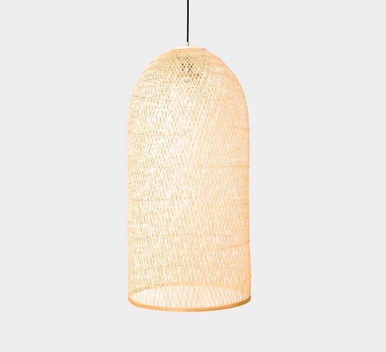 pendant light cap small natural o38cm h92cm ay illuminate