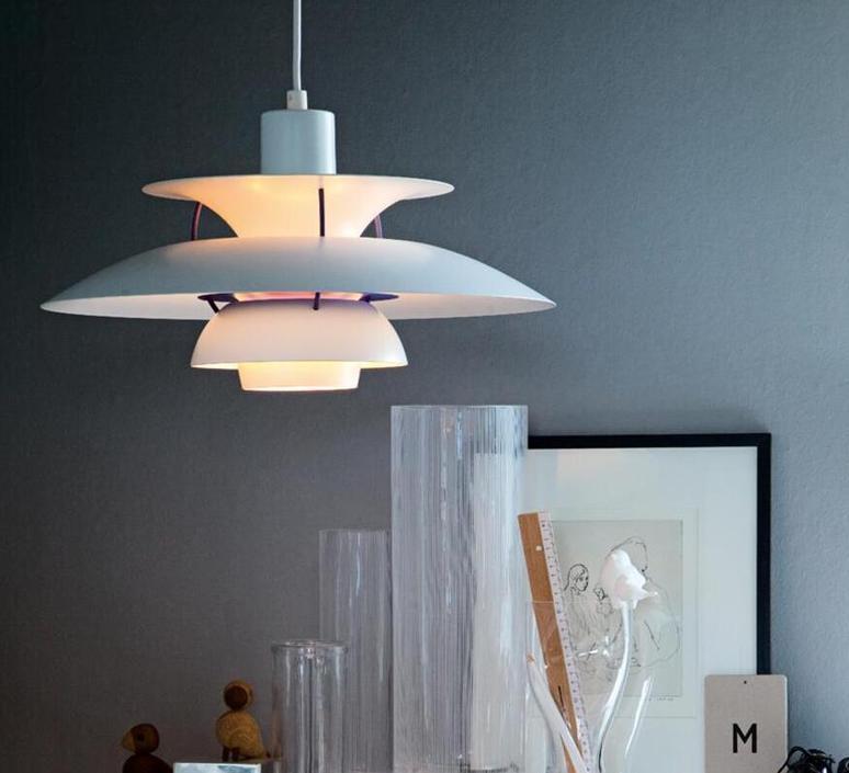 pendant light ph5 mini white o30cm h16 3cm louis poulsen