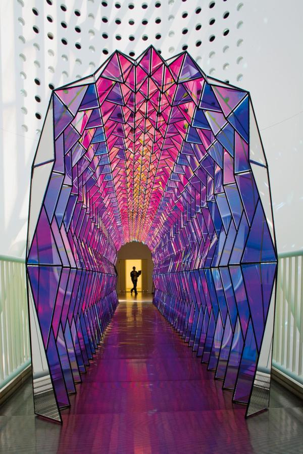 Colour Tunnel Artwork Studio Olafur Eliasson