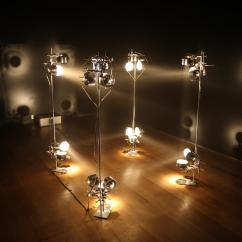 Kitchen Bulbs Gray Wash Cabinets 1 M3 Light • Artwork Studio Olafur Eliasson