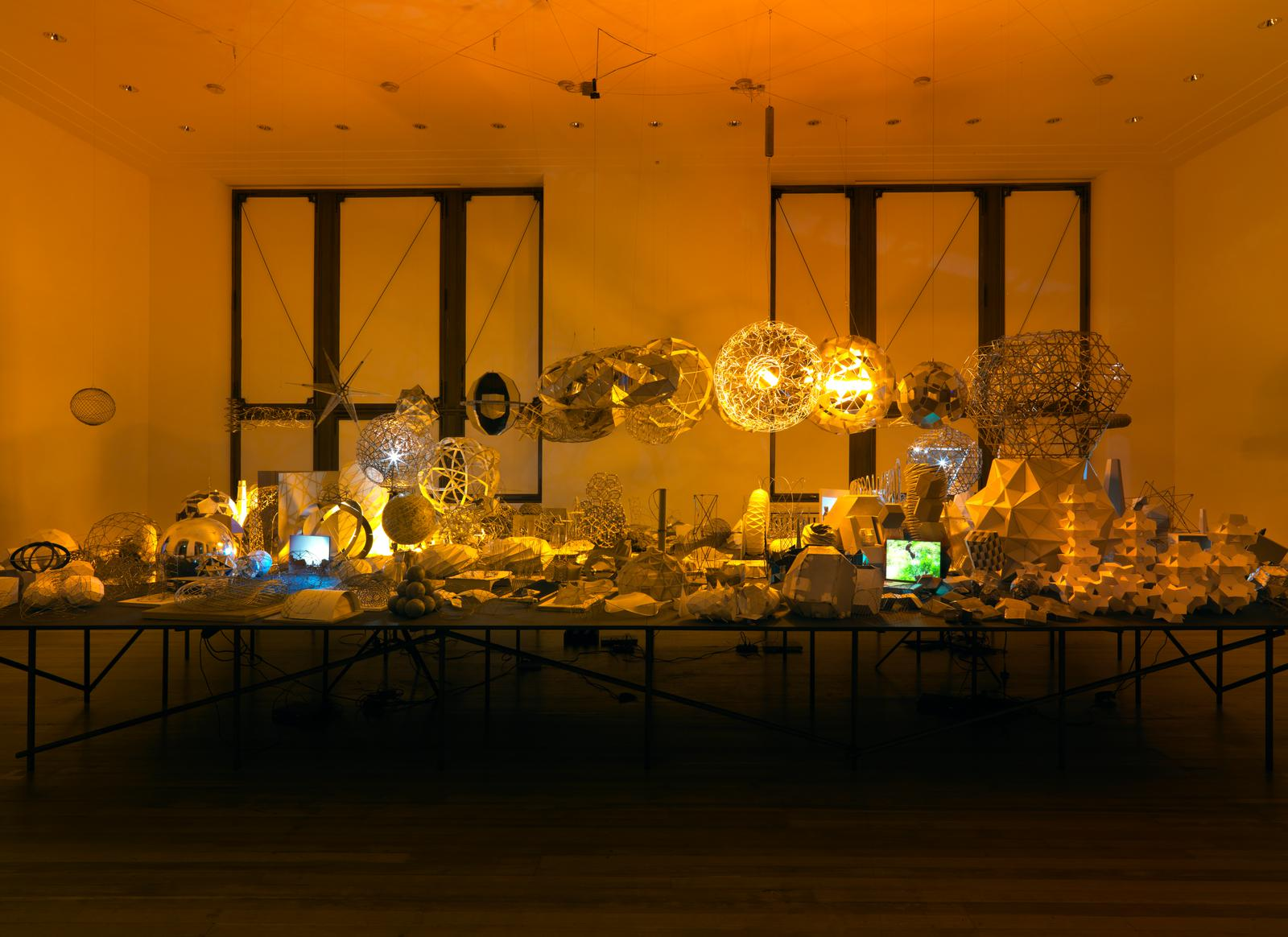 kitchen display portable mixers model room • artwork studio olafur eliasson