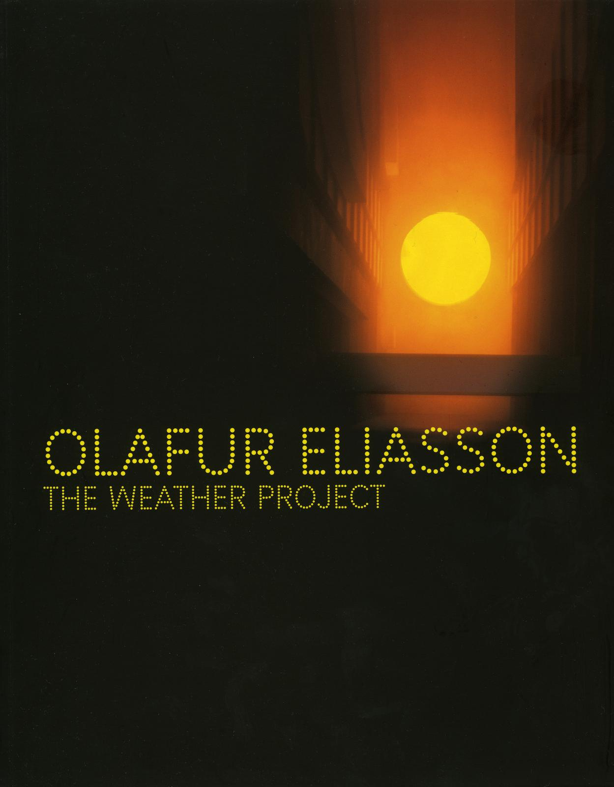 The Weather Project  Publication  Studio Olafur Eliasson
