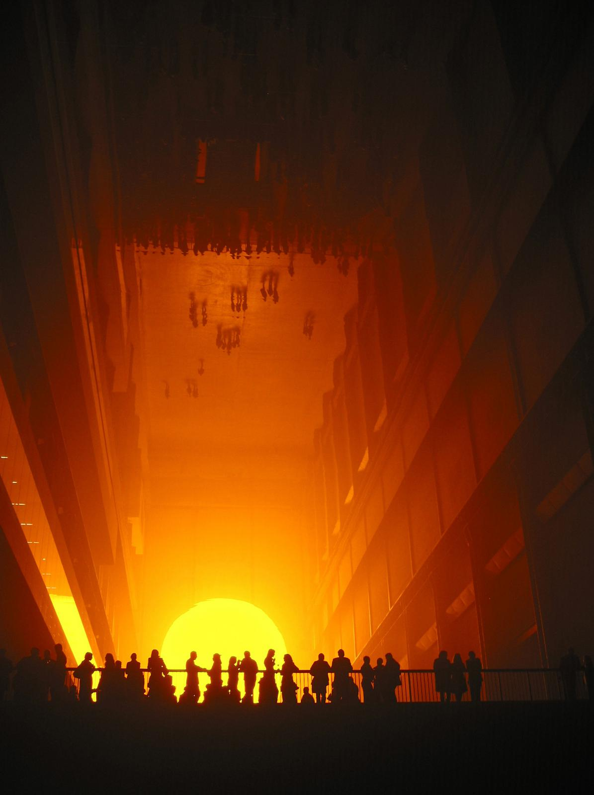 The weather project  Artwork  Studio Olafur Eliasson