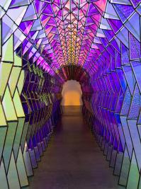 One-way colour tunnel  Artwork  Studio Olafur Eliasson