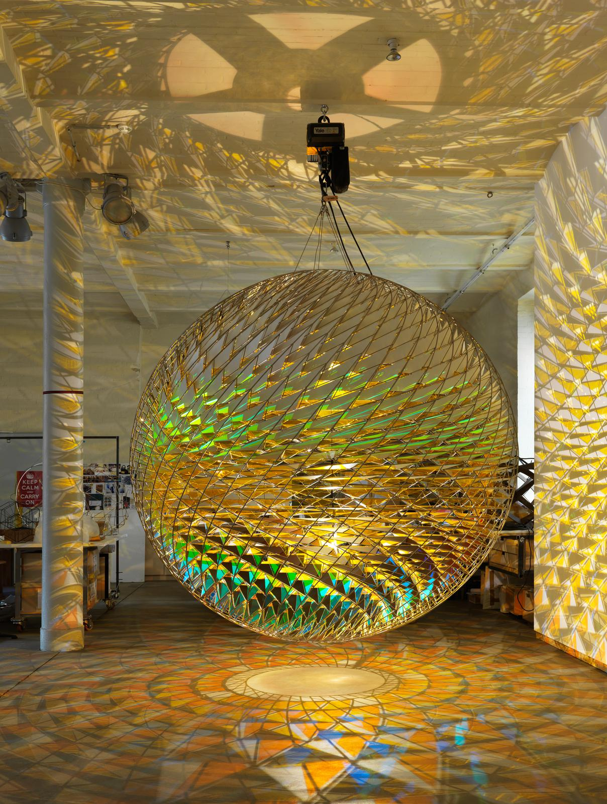 Spherical space  Artwork  Studio Olafur Eliasson