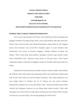 Essay Tentang Virus Corona : essay, tentang, virus, corona, ESSAY, (CORONA, VIRUS).docx