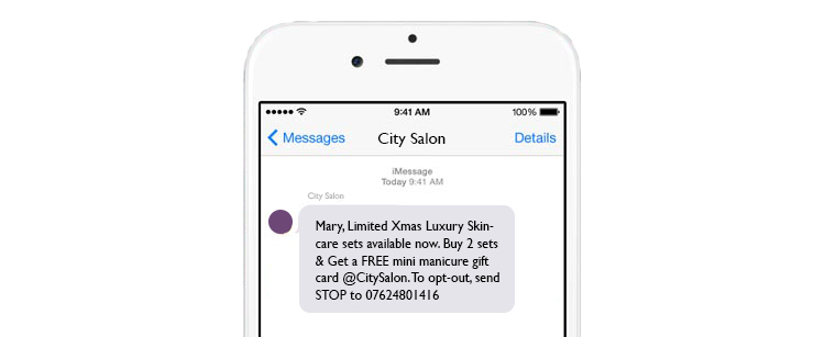 Demystifying SMS Salon Advertising & Transactional Texts