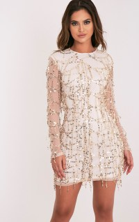 Sequin Dresses   Sparkly Dress   PrettyLittleThing USA