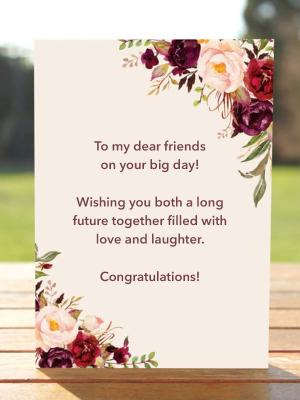 Wedding Wishes What To Write In A Wedding Card Poptop Event Planning Guide