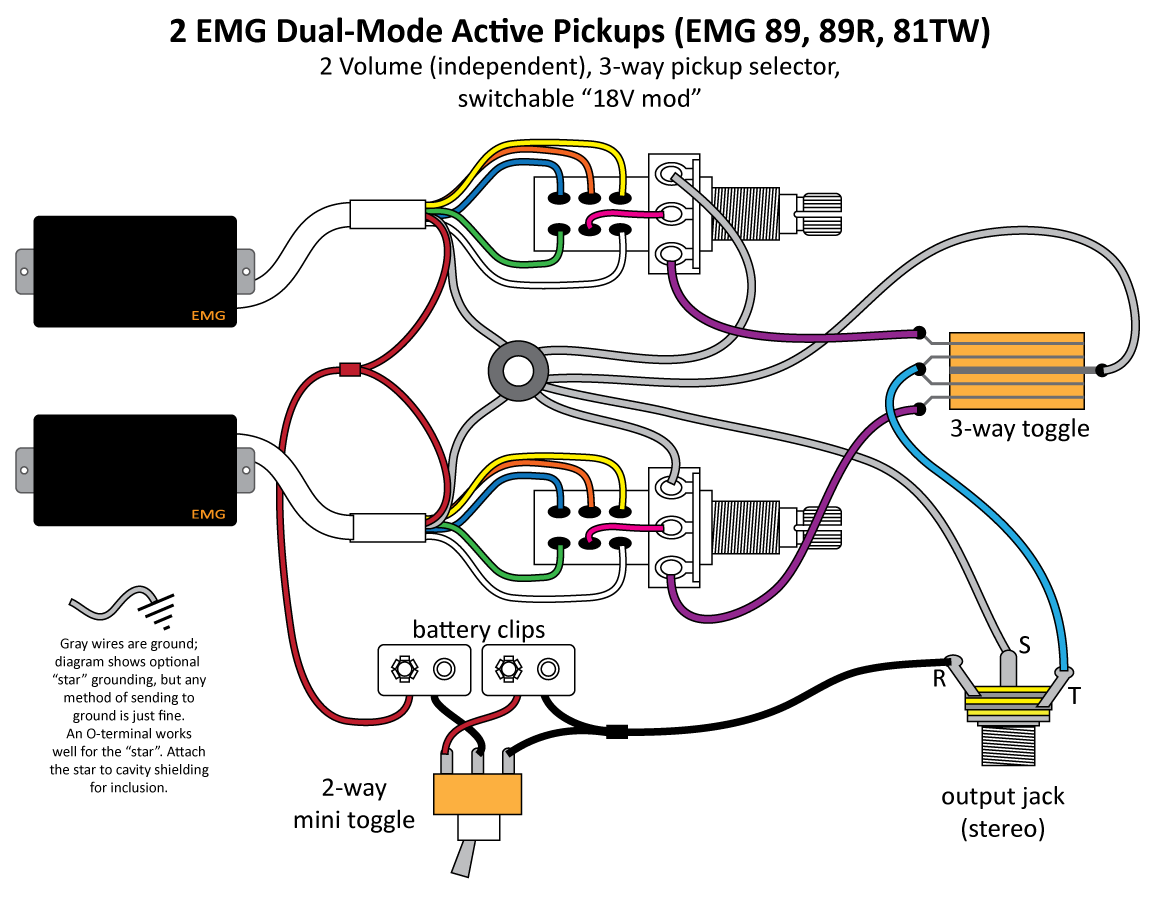 hight resolution of sanity check my wiring electronics chat projectguitar com rh projectguitar com emg guitar wiring diagrams emg 89 wiring diagrams with mini toggle