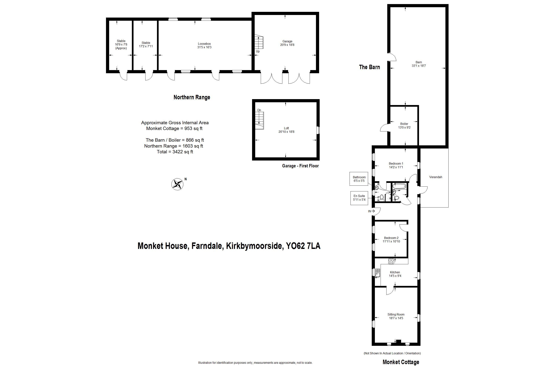 5 bedroom Farm House for sale: Farndale, Kirkbymoorside