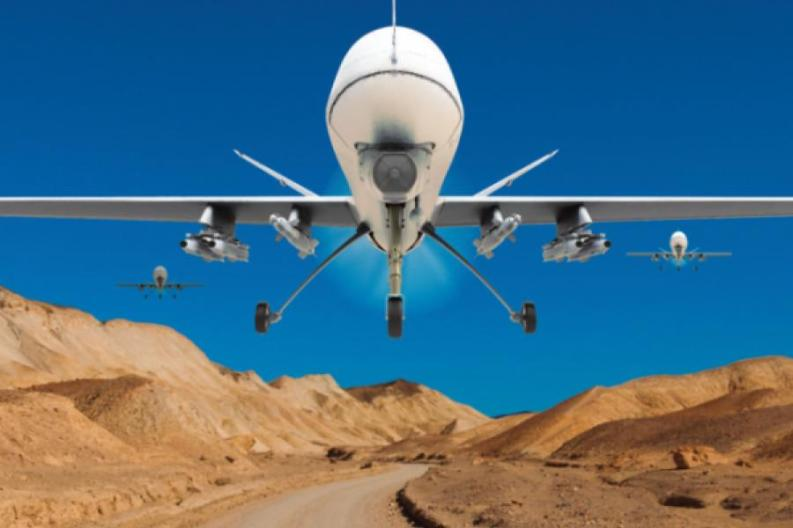 DRONES, BABY, DRONES - Arcola Theatre