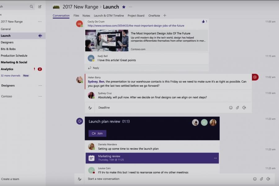 How Microsoft built its Slack competitor
