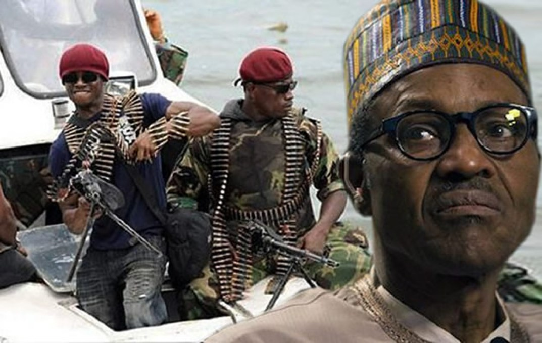 BUHARI WARNS NIGER DELTA MILITANTS – I WILL NEVER ALLOW YOU COLONIZE NIGERIA BCAUSE THATS YOUR OBJECTIVE