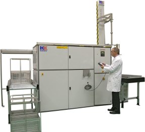 A Typical Kerry Ultrasonics cleaning plant