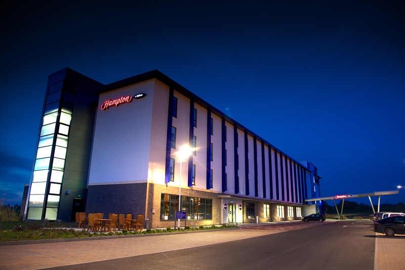 Hampton By Hilton Hotel Exeter Airport By Gjr Architects Ltd