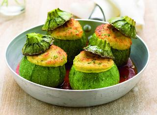 Ricette Zucchine genovesi ripiene  Le ricette di