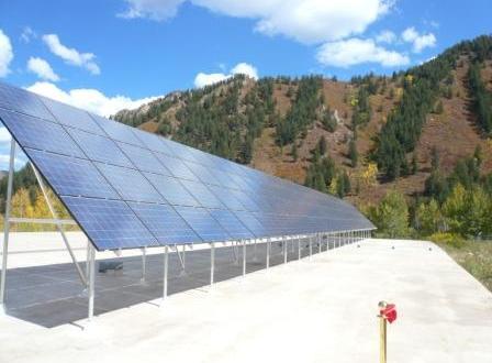 Aspen devient la 3e ville américaine qui est alimentée à 100 % par l'énergie renouvelable