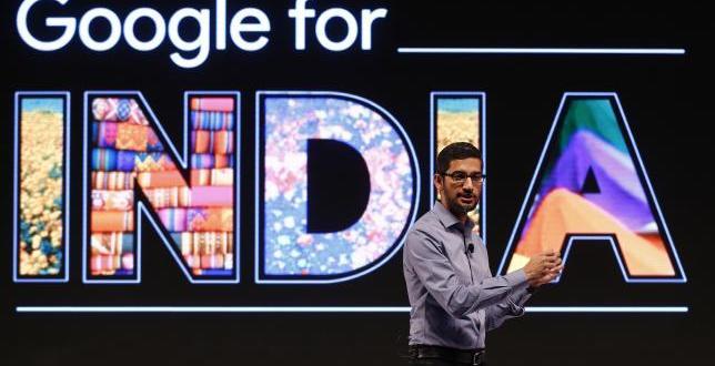 """Sundar Pichai : """"L'Inde sera notre terrain de test pour les nouveaux produits de Google"""""""