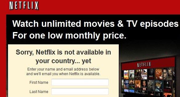 L'Europe propose le ban du blocage géographique sur Netflix et consort