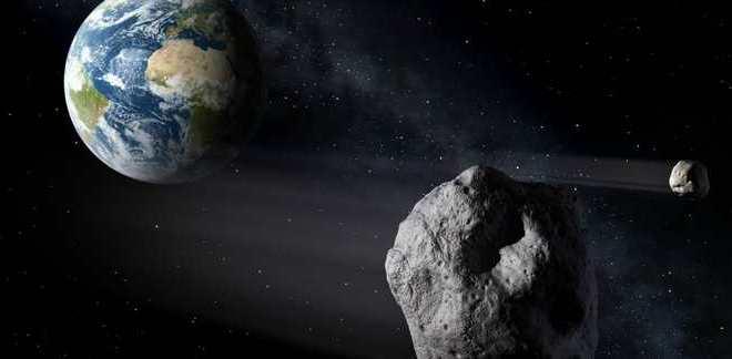 Un astéroïde va frôler la terre en mars 2016