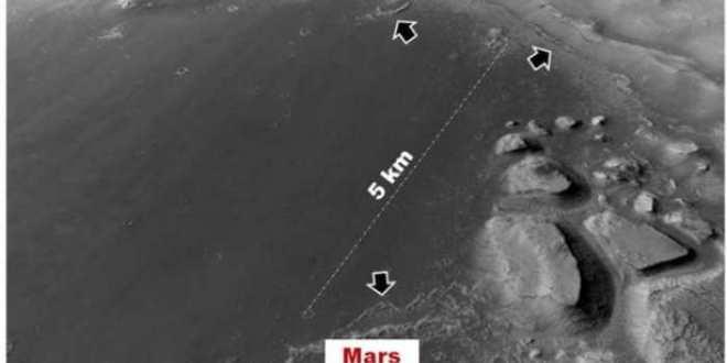 D'anciens lacs sur Mars auraient pu abriter de la vie