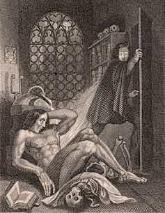 Tout le monde connait le roman de Frankenstein par Mary Shelley, mais très peu de gens connaissent l'histoire de la création du roman qui est tout aussi fantastique.